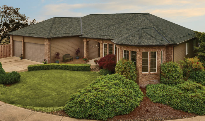 GAF® Timberline® Exclusive DaBella Shingle Color: Heartwood
